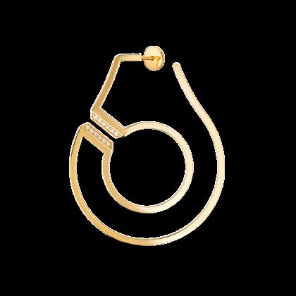 Menottes dinh van R45 left hoop earring