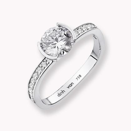 or blanc et diamants